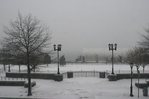 Battery park nevado